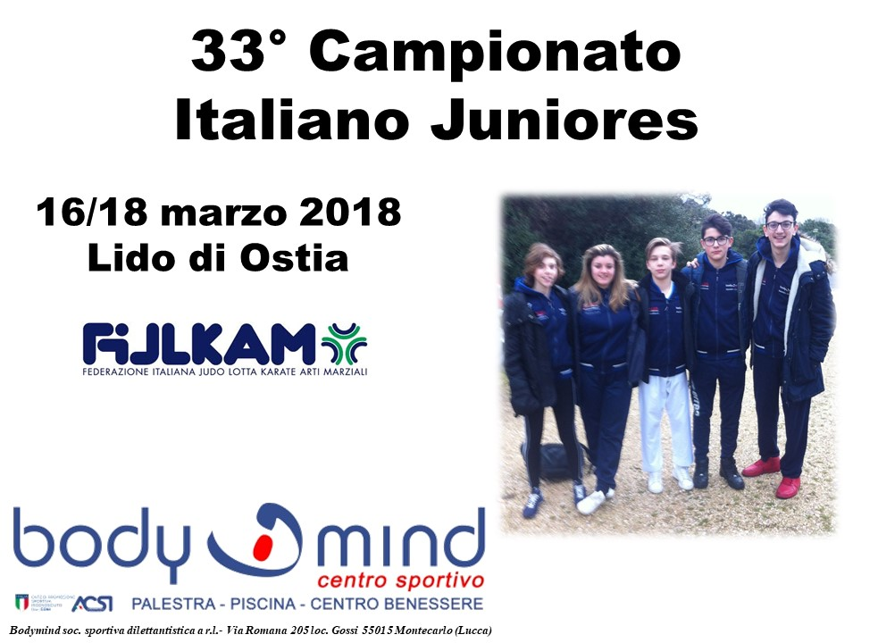 CampionatoItalianoJunioresKarate16 3 18